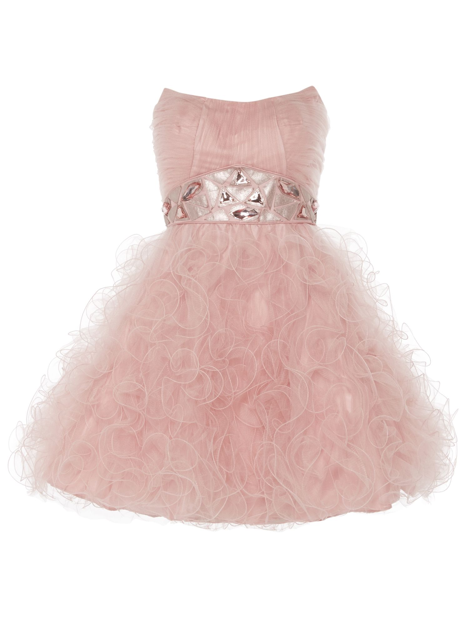 ANOUSHKA G Tara short tulle prom dress, Pink