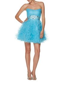 Tara short tulle prom dress