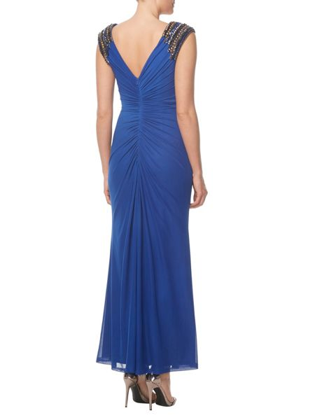 ANOUSHKA G Evana jersey maxi dress