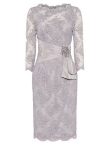 ANOUSHKA G Megan lace dress with embellishment