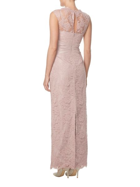 ANOUSHKA G Martha embellished lace maxi dress