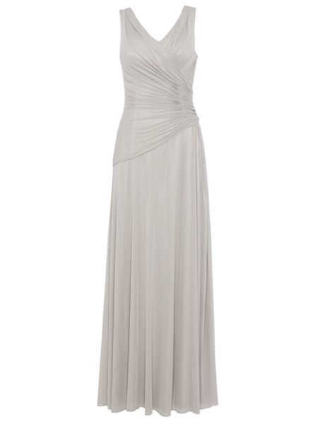 ANOUSHKA G Mara mesh maxi dress