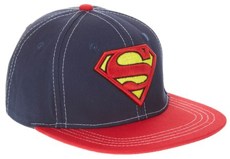 Fabric Flavours Boys Superman Logo Cap