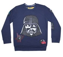 Fabric Flavours Boys Star Wars Darth Vader Sweatshirt
