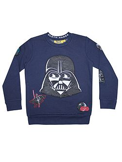 Boys Star Wars Darth Vader Sweatshirt