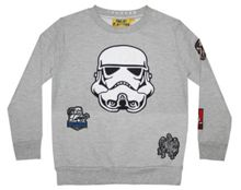 Fabric Flavours Boys Star Wars Stormtrooper Sweatshirt