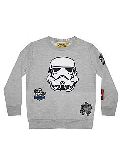 Boys Star Wars Stormtrooper Sweatshirt