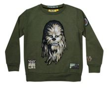 Fabric Flavours Boys Star Wars Chewbacca Sweatshirt