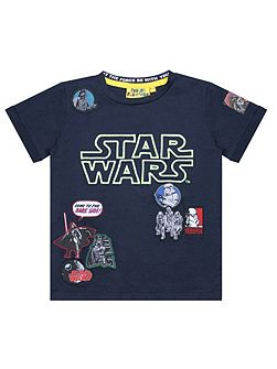 Boys Star Wars Glow in the Dark T-shirt