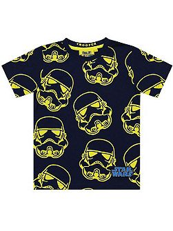 Boys Star Wars Stormtrooper T-shirt