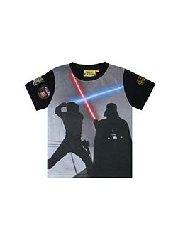 Boys Star Wars Light Saber T-shirt