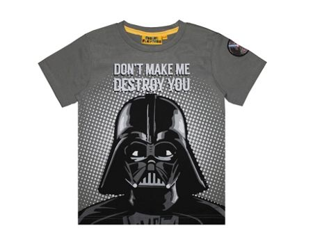 Fabric Flavours Boys Star Wars Darth Vader T-shirt