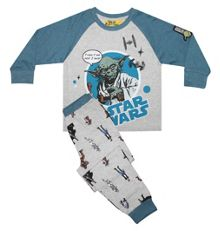 Fabric Flavours Boys Star Wars Yoda Jedi Master Pyjamas