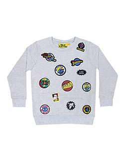 Boys Superman Badge Sweatshirt