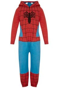 Fabric Flavours Boys Spider-man Onesie