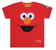 Kids Elmo Face T-Shirt