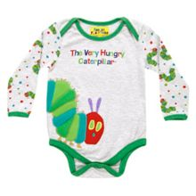 Fabric Flavours Kids Very Hungry Caterpillar Babygrow