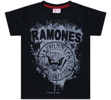Amplified Kids Kid`s Ramones Logo T-shirt