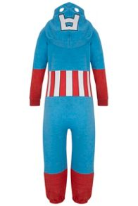 Boys Captain America Onesie