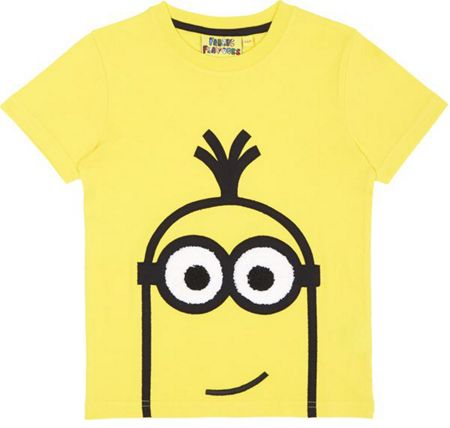 Fabric Flavours Kids  Minions `Kevin` T-shirt