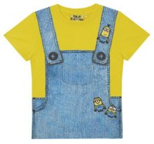 Fabric Flavours Kids Minions Dungaree Print T-shirt
