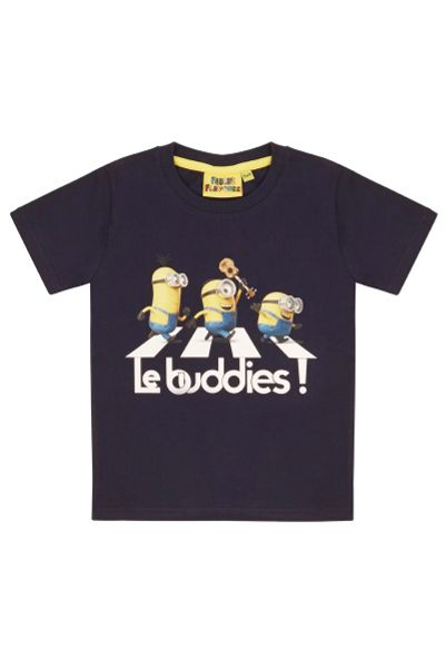 Fabric Flavours Kids Minions Abbey Road T-shirt