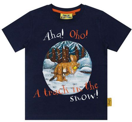 Fabric Flavours Boys Gruffalo`s Child T-shirt