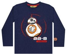 Fabric Flavours Kids Star Wars BB-8 LS T-Shirt