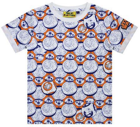 Fabric Flavours Kids Star Wars BB-8 Droid T-Shirt