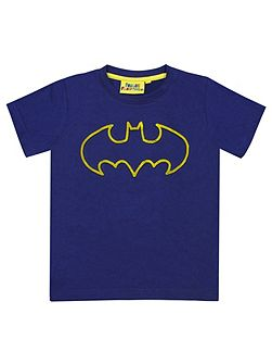 Boys Batman Tuft Logo T-Shirt