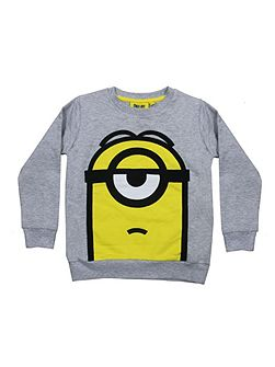 Kids Minion Stuart Sweatshirt