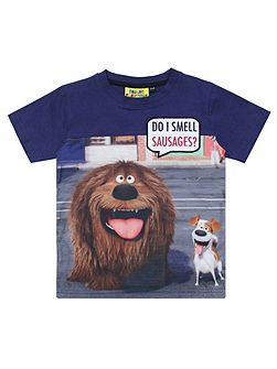 Kids Secret Life of Pets Sausage T-shirt