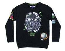 Fabric Flavours Kids Star Wars Death Trooper Sweatshirt