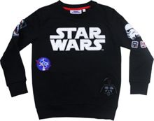 Fabric Flavours Kids Star Wars Badge Sweatshirt