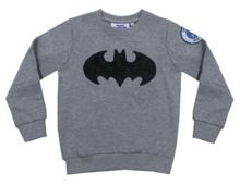 Fabric Flavours Kids Batman Changeable Badge Sweatshirt