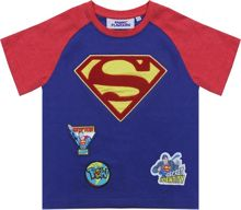 Fabric Flavours Kids Superman Chenille Logo T-Shirt