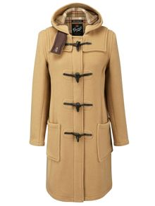 Long Slim Duffle Coat