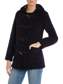 Mid Length Slim Duffle Coat
