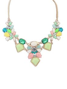 Ruby Rocks Multi gem necklace