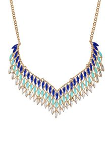 Ruby Rocks Elegant collar necklace