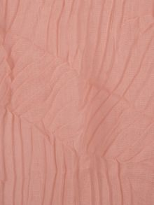 Ruby Rocks Pink zig zag pleated scarf