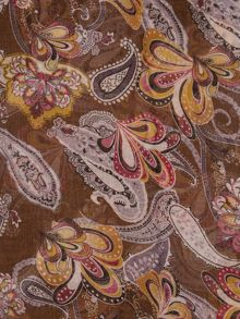 Ruby Rocks 70s style paisley print scarf