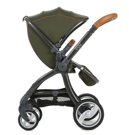 Egg Stroller forest green/gun frame