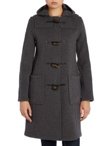 Gloverall Long Slim Duffle Coat