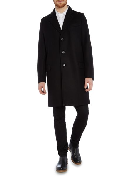 Gloverall Lined Chesterfield Coat