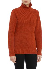 Gloverall Rib Funnel Neck Jumper