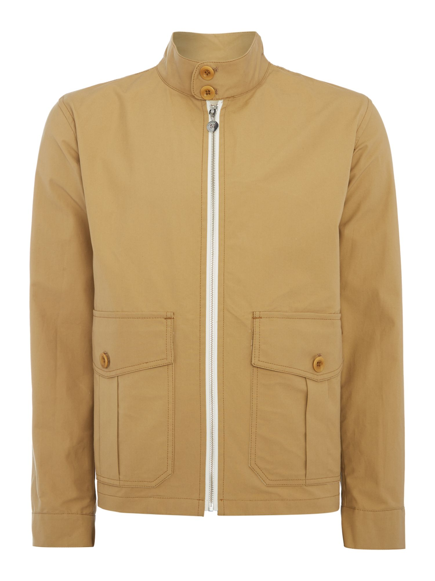 Men's Vintage Style Coats and Jackets Mens Gloverall Unlined zipped harrington jacket £225.00 AT vintagedancer.com