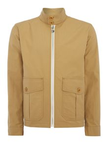 Gloverall Unlined zipped harrington jacket