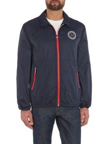 Gloverall Unined zipped bomber jacket