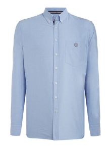 Gloverall 100% cotton washed oxford shirt